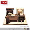 jewelry cabinet displays set for ring, earring, and pendant
