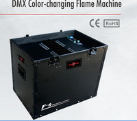 DJPOWER professional stage vivid fire effects DMX color changing flmae machine