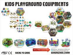 Kids playground equipment for amusement park and indoor or outdoor playground Page 175-185