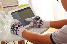 Venta al por mayor caliente multifuncional guantes para pantalla táctil