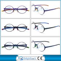 Most popular design compact reading glasses metal round frame reading glasses MOQ 1200pcs meet CE/FDA BRM3968