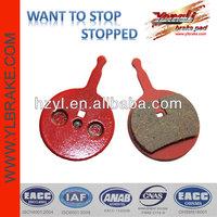 High temperature resistant brake pads bicycle