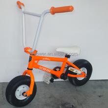 racing bike ,2015 scream new design,10inch ,3 pieces crank, bmx