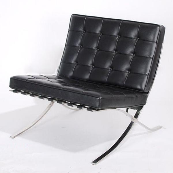 designer replica classic style barcelona living room lounge chair ottoman barcelona chair. Black Bedroom Furniture Sets. Home Design Ideas