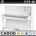 Blanco polaco concierto de piano vertical , precio para la venta