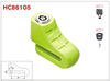 HC86105 harden body lock mechanical pin key 5.5mm disc brake motorcycle locks