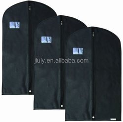 New 5PCS Black Foldable Garment Bag For Suit,Dress,Jacket /Cover