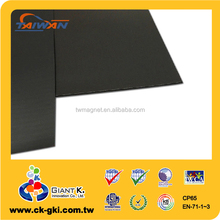 Industrial flexible rubber magnetic sheet supplies adhesive craft magnets