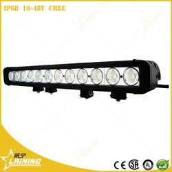 Auto part 10320LM 120w 24 volt aurora led light bar for off road driving truck motorcycle bike