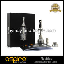 Aspire Stainless Steel with Airflow Control Aspire Nautilus
