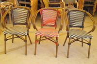 faux bamboo chair factory , wholesale wicker patio chairs AS-6156