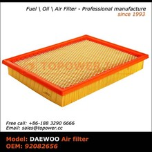 OEM 92082656 Paper for production air filter