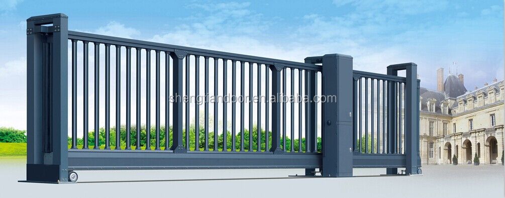 Factory main entrance automatic sliding gate remote for Sliding door main entrance
