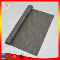 restaurant napkin pvc textile wall decorative material chilewichd basketwall placemat material office balcony flooring material