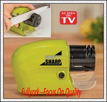 Electric Knife Sharpener Swifty Sharp Knives Grinding Machine Accessory As Seen On Tv