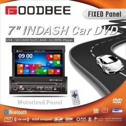 1 Din 7 inch indash car DVD player