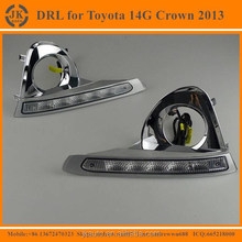 Super Bright Waterproof LED DRL for Toyota Crown 13G Factory Price LED Daytime Running Light for Toyota Crown 2012-2014