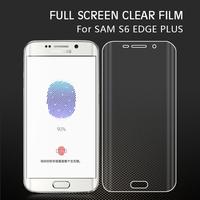 2015 Product HD Full Cover Edge to Edge Anti-shock Screen Protector for Samsung Galaxy S6 Edge plus /G9280 Screen Film
