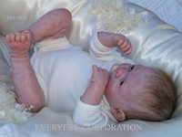 2015 newborn nipple sucking dolls/reborn newborn baby dolls/soft silicon newborn baby doll
