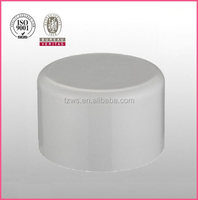 """HJ"" PVC white plastic sch40 pipe fittings protect end caps"