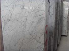 Carrara white stone candle holder