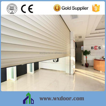 High Security Modern Manual and Automatic aluminum roller shutter