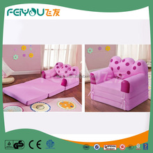 Multifunctional red dots lovely folding sofa bed / sofa cum bed
