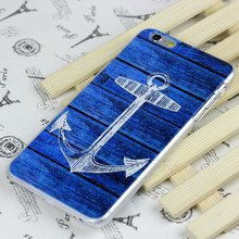 4D carven PC hard case for iphone4 5s 6 plus for huawei mx4 cover boat anchor style all mobiles available