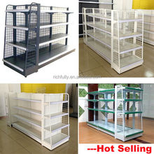 Top hot selling Convenient Chain Grocery Store Shelf, Used store shelf, Mini Metal Wire Shelf