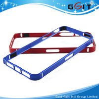 Slim Thin 0.7 MM Metal Aluminum Bumper Frame Case For iPhone 5 5S