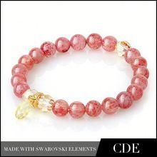 2015 rhinestone sexy jewelry lingerie plus size bangle bracelet