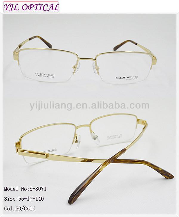 Glasses Frames Free Trial : 2014 Fashion Men Optical Frames Titanium Trial Frames ...