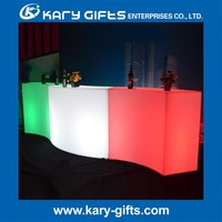 light up led furniture led bar counter and table