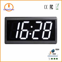 "4"" 4 digit NTP synchronized digital clock approved by CE/FCC/RoHS"