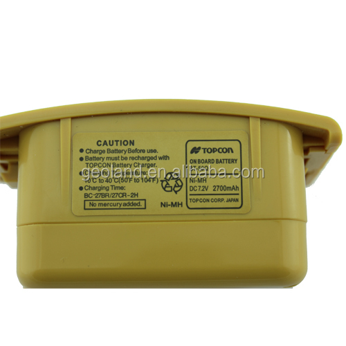 Total Station NiMH Battery BT-50Q for Topcon GTS-600 series