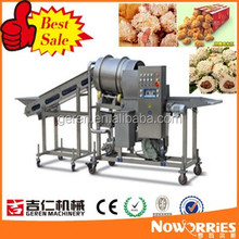 Vegetable, nugget, fried flour-coated peanut, popcorn chicken, cashew, fish ball, fast food, meat, fruit roller sizing machine