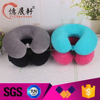 Supply all kinds of funny car neck pillow,cotton linen car neck pillow,bluetooth neck pillow speaker