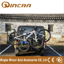 Automobile trailer ball type bicycle racks/rear bike rack /car bike rack