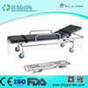 DW-SS005 stainless steel Ambulance hospital stretcher cart for sale