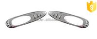 ABS Plastic side lamp rim for Mitsubishi Pajero V73 chrome car light accessories 2 pcs/set