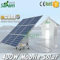 400W 24V Mobile Cube Solar Panels Generator