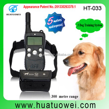 Private Label Best Selling Rechargeable Waterproof No Bark Dog Collars, Remote Dog Shock Collars