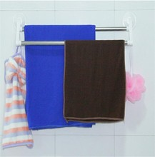 J470 wholesale wall mounted vacuum suction cup poles towel rack / bar