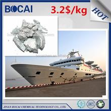 silver metallic aluminium color pigment non-leafing aluminium paste for marine ship coating paint