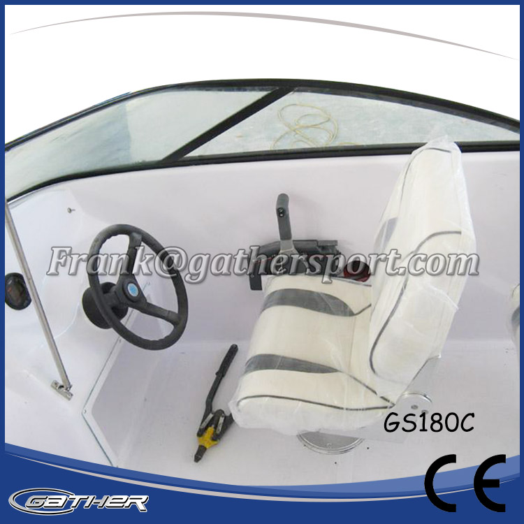 GATHER 5.5M FIBERGLASS SPORT BOAT GS180C-014