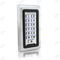 whole package for Stainless steel keypad with LED door access