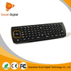 2015 Factory Supply mini wireless keyboard with trackball mouse
