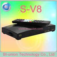satellite tv receiver s v8 Support 3G IPTV YouTube WIFI full hd satellite receptor