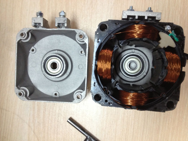 Single Phase Induction Motor   Split Phase Capacitor Start Run Shaded ...