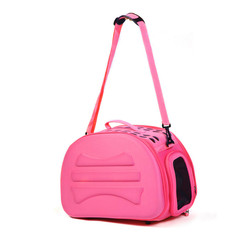 Portable shoulder tote EVA trolley bag pet travel carrier bag, dogs cats animals puppy carry house pet cage backpack travel bag
